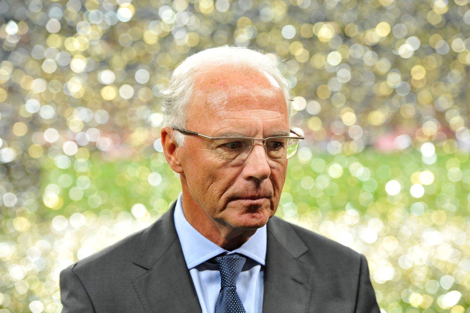 EINMALIGE VERWENDUNG Franz Beckenbauer