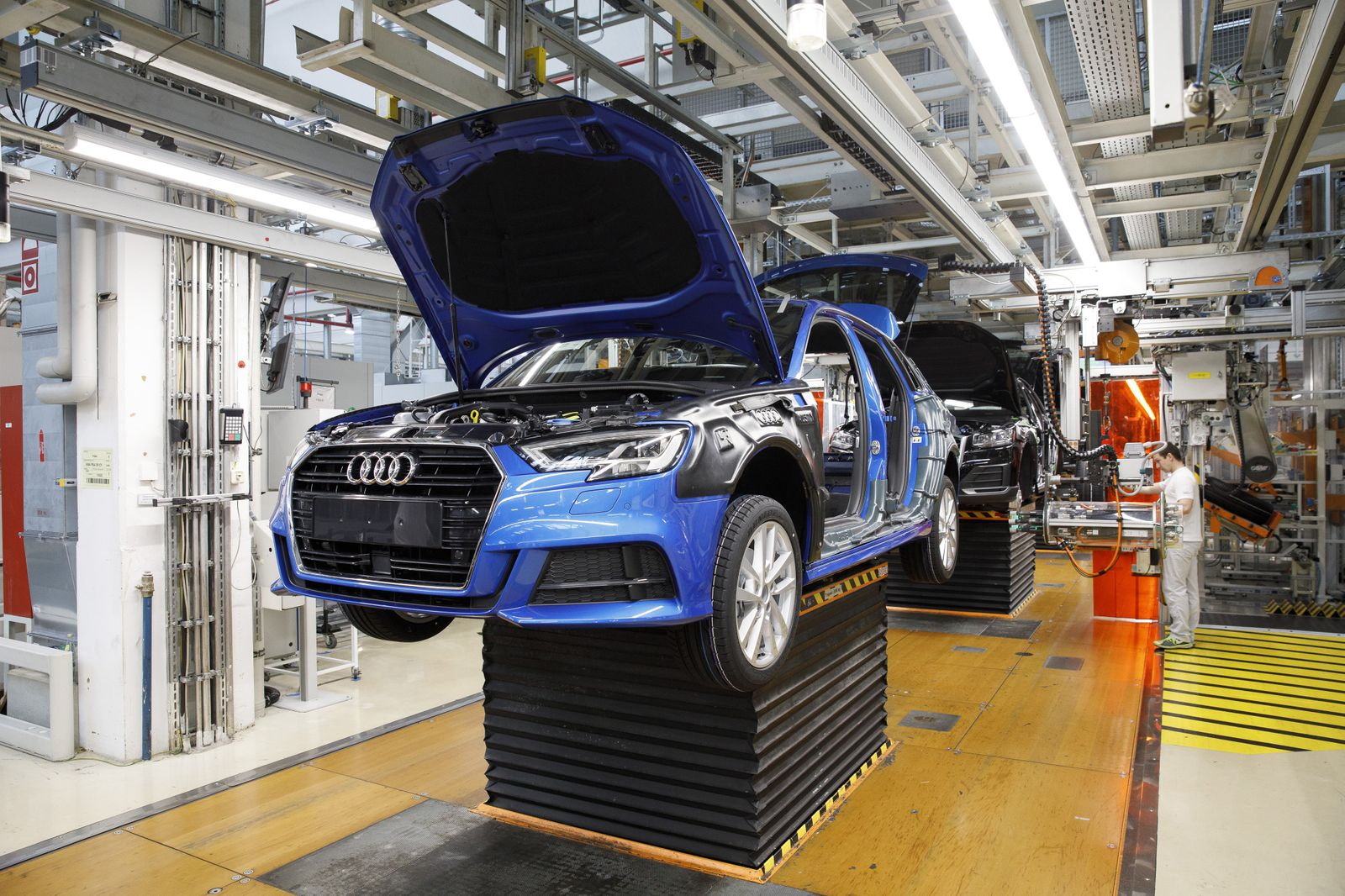 Audi AG Automobile Factory Tour Ahead Of Earnings