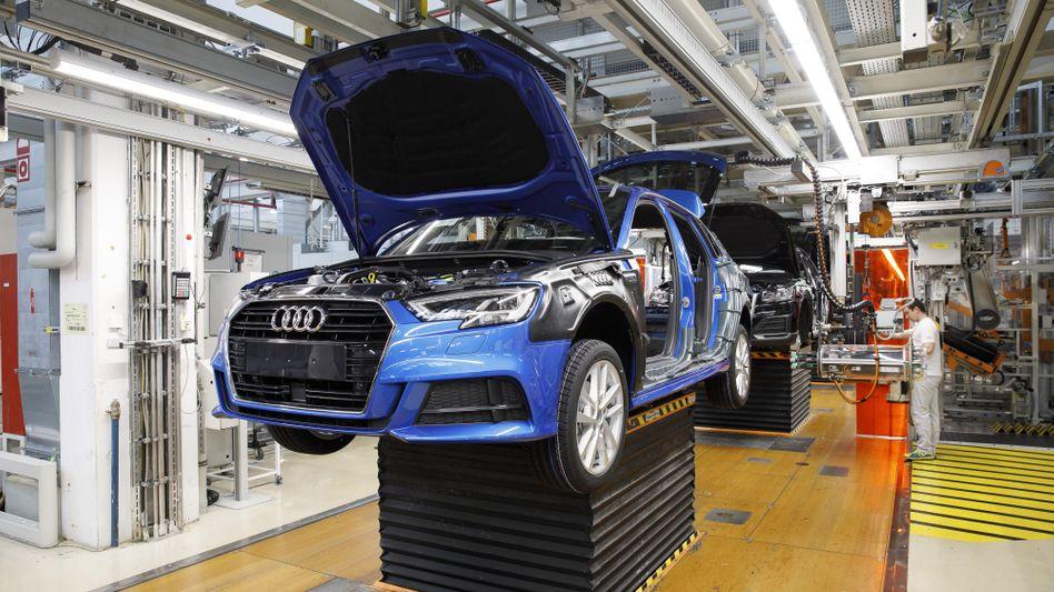 A3-Produktion bei Audi in Ingolstadt: Probleme mit der Software