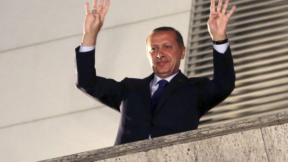 Türkischer Premier Recep Tayyip Erdogan: Schaden für türkische Internetbranche