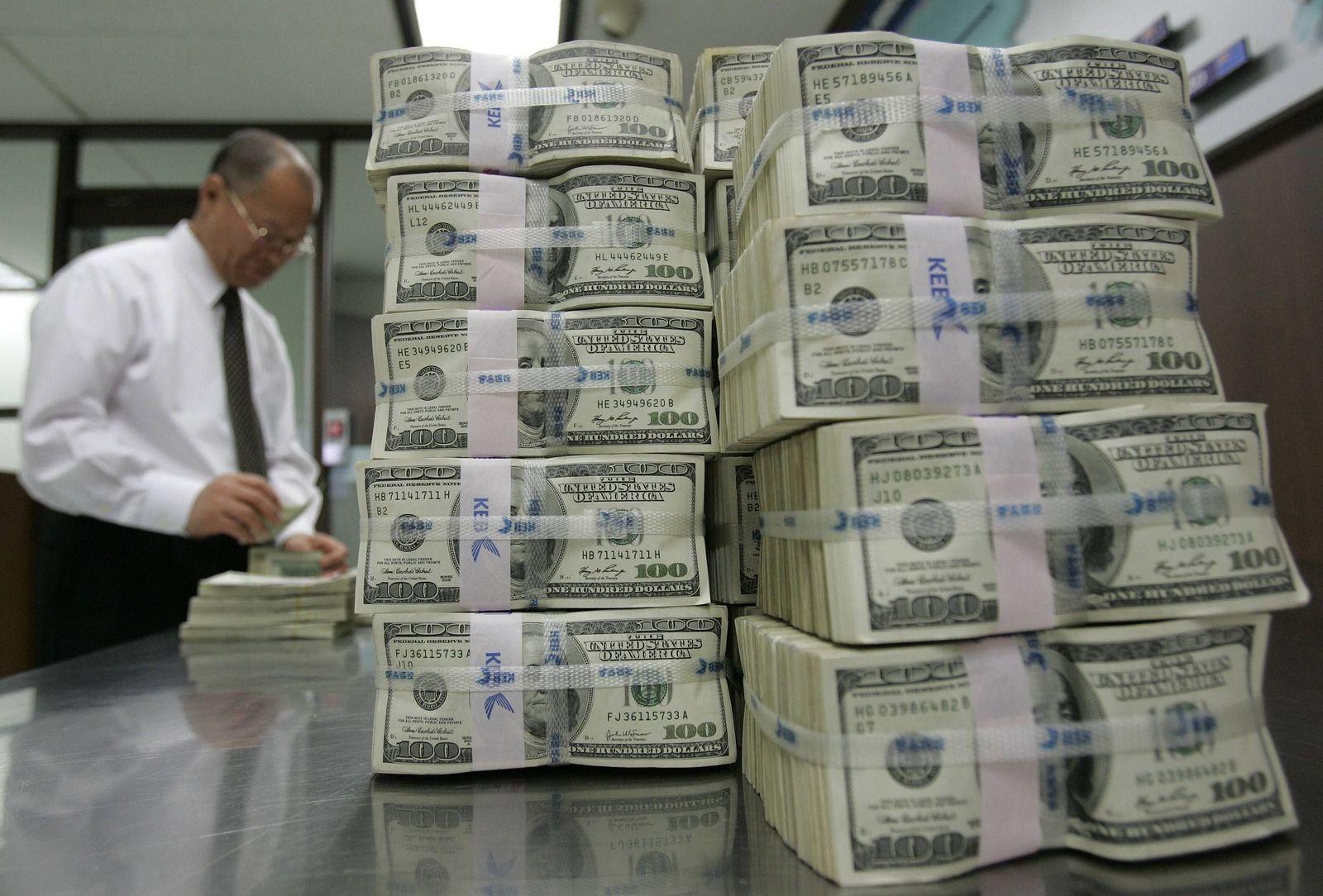 Dollar-Bündel / Korea