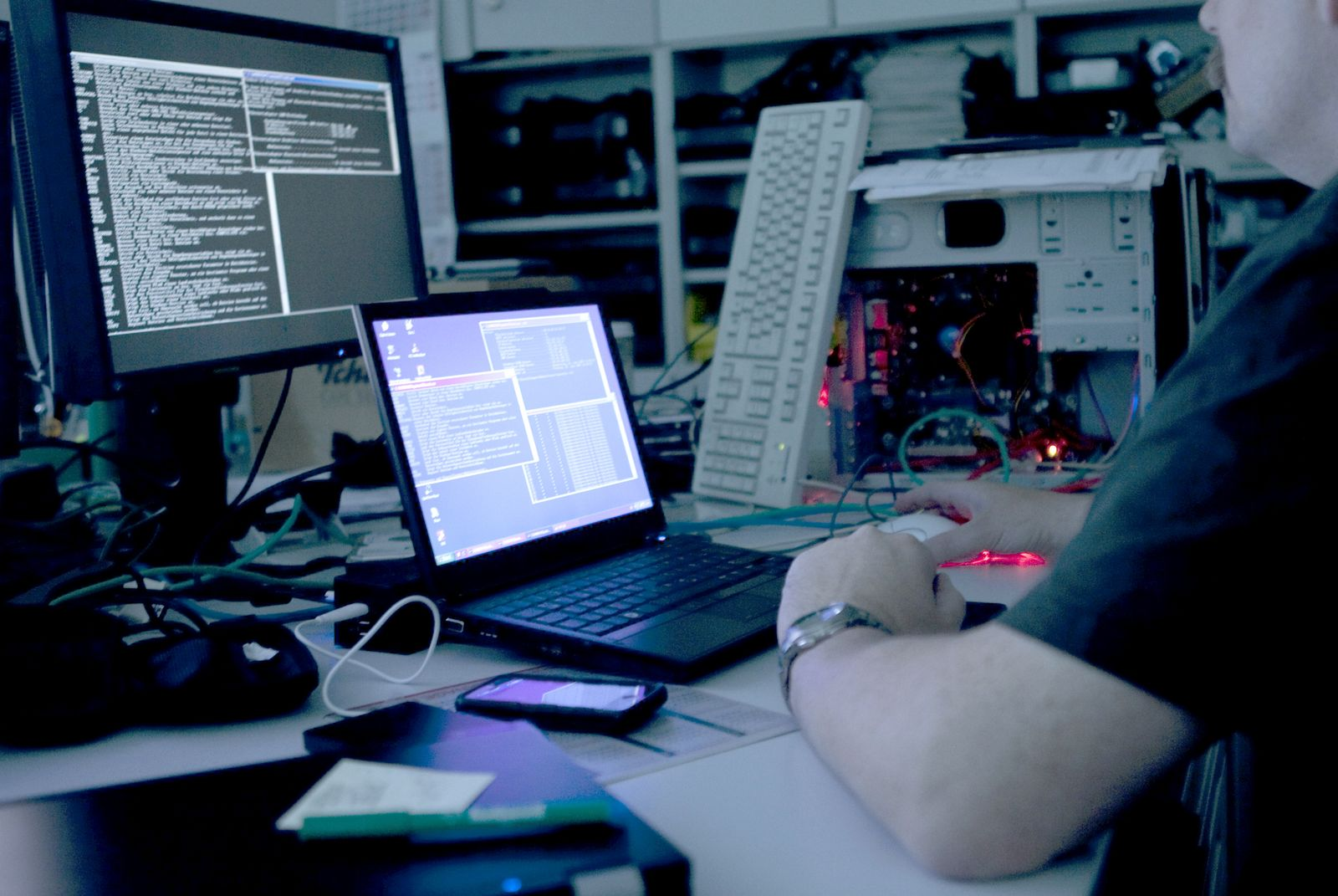 USA/ Hacker / Internet
