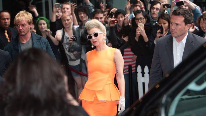 Lady Gaga: Gehirnerschütterung in Neuseeland