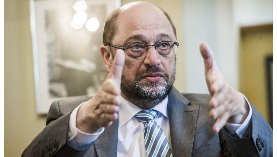 Europaparlamentschef Schulz