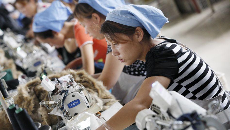 Textilfabrik im chinesischen Huaibei: Großes Geschäft mit Billigware