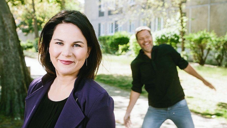 Parteivorsitzende Baerbock, Habeck: Zwang und Druck nicht nötig