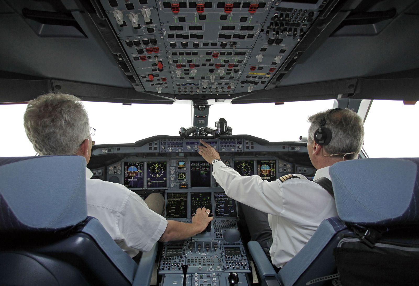 Piloten/ Arbeitsbelastung