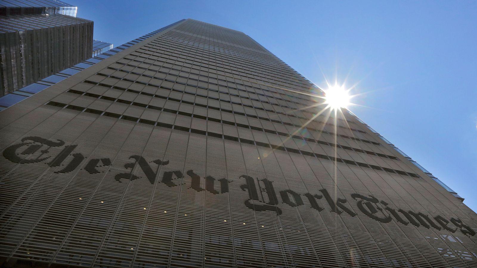 New York Times / Gebäude