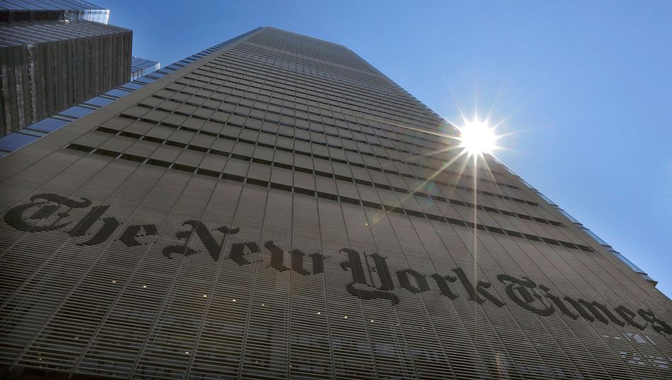 """""""New York Times""""-Gebäude: Reichlich Diskussionsbedarf wegen Überschrift"""
