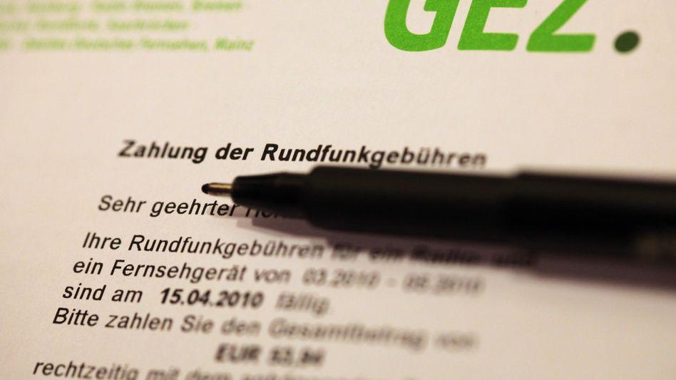 Altes GEZ-Formular: Haushaltspauschale für alle