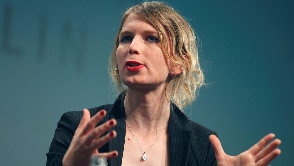 Chelsea Manning auf der re:publica