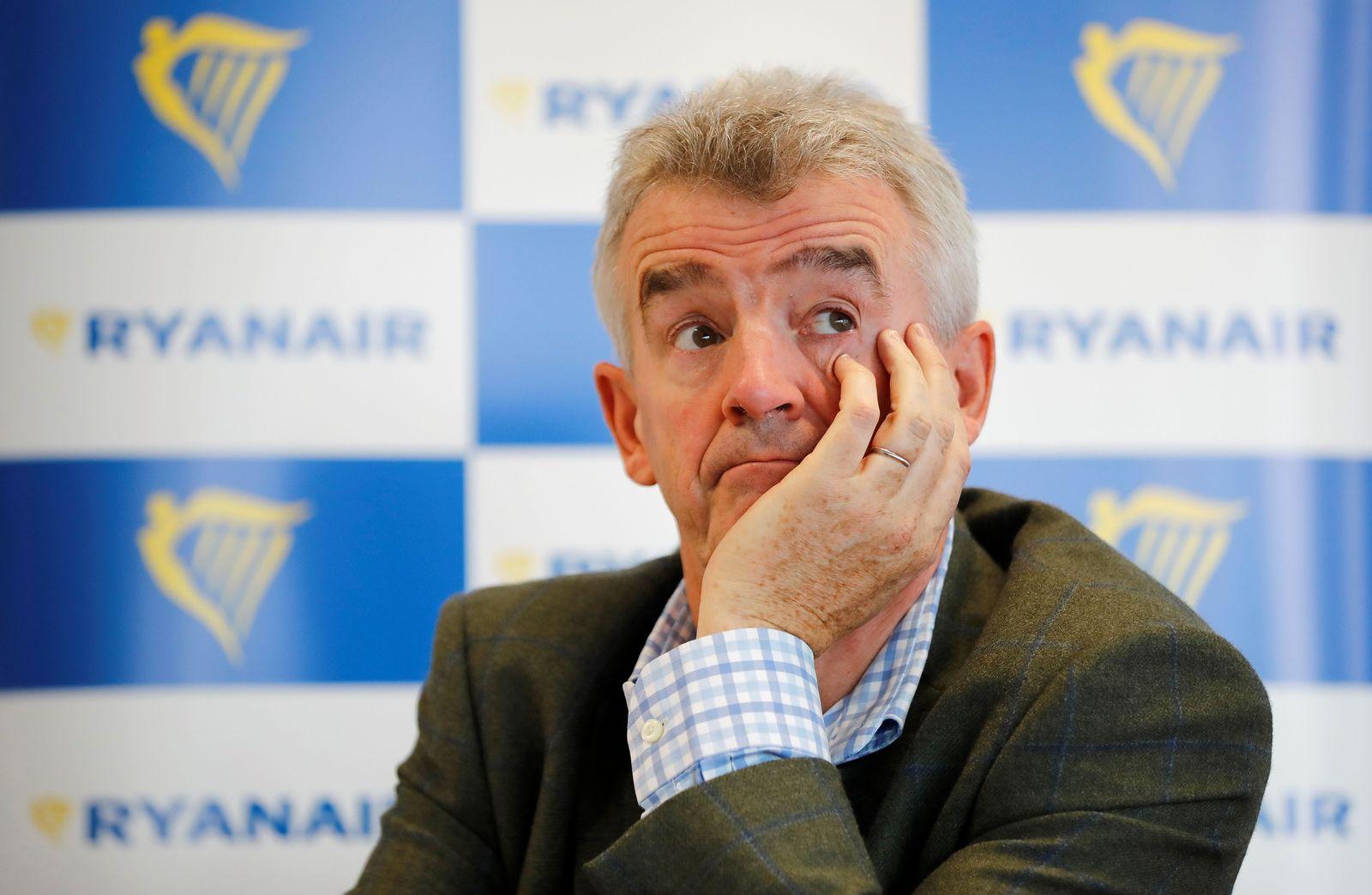 IRELAND-AVIATION-STRIKE-RYANAIR