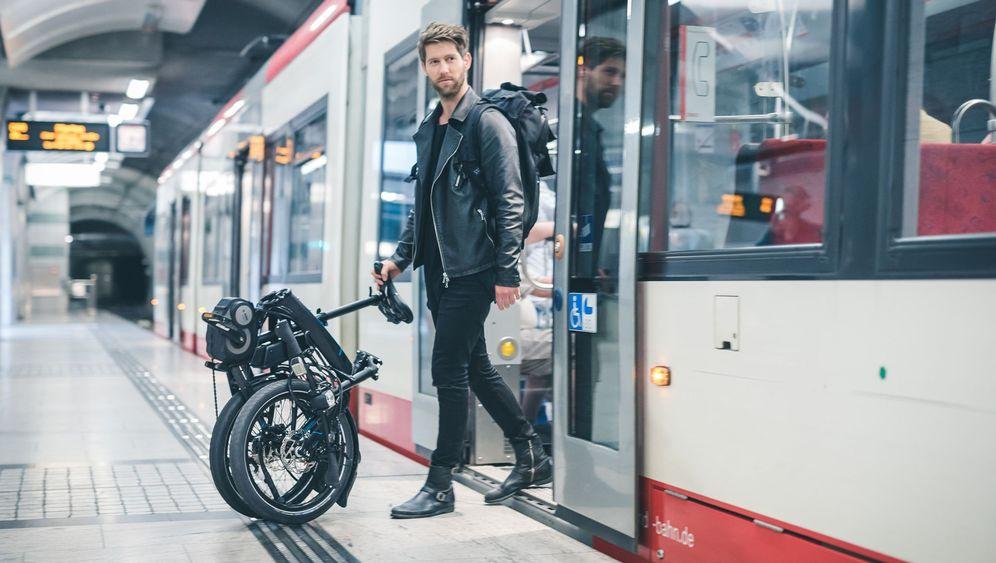 E-Faltrad Tern Vektron: Das klappt