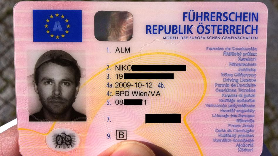 Führerschein von Niko Alm: Ein Nudelsieb aus Religionsfreiheit