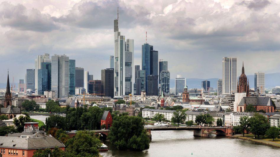 Banken in Frankfurt: Aufschwung ohne Schwung