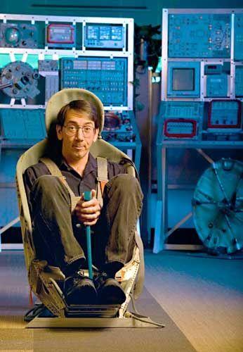 """""""Spore"""" creator Will Wright."""