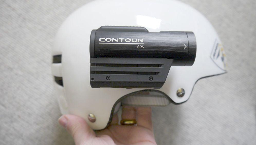Contour-GPS-Videokamera: Mittendrin, nicht nur dabei