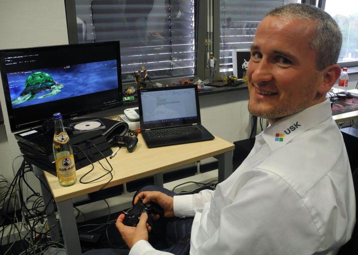 Seit vielen Jahren USK-Tester: Marek Brunner