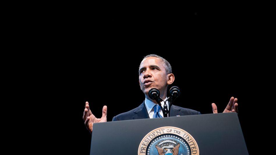 Obama (Archivbild): Vorratsdatenspeicherung nach EU-Vorbild