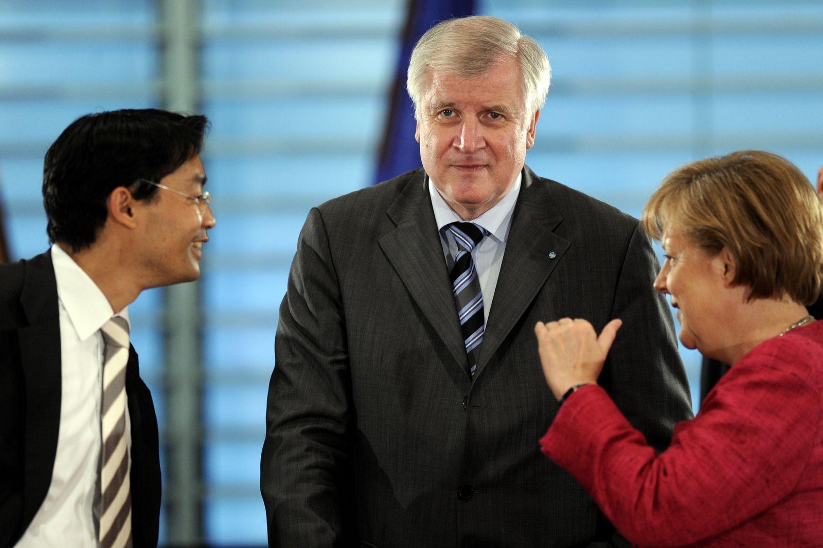 NICHT VERWENDEN Rösler, Seehofer, Merkel