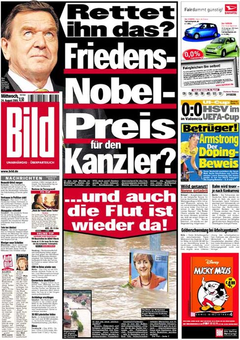 """""""Will it Save Him? A Nobel Peace Prize for the Chancellor? Plus, the Floods Are Back Again!"""""""