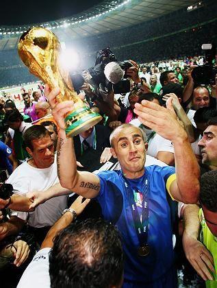 Weltmeister Italien (2006): Keine WM-Vergabe nach Kontinenten