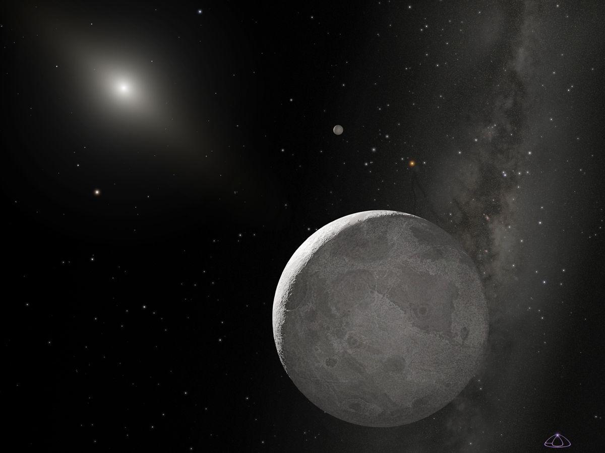 EINMALIGE VERWENDUNG Hubble / Pluto