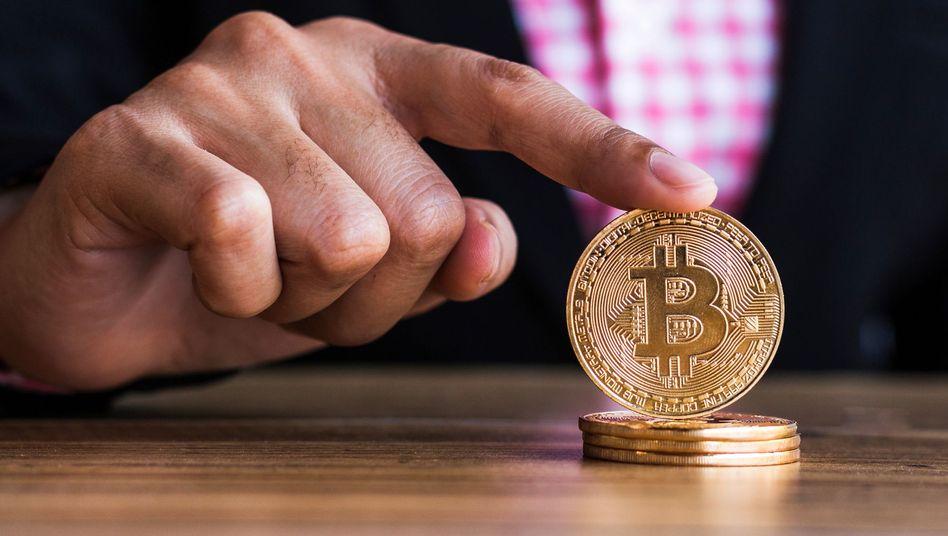 Bekanntestes Blockchain-Produkt: der Bitcoin