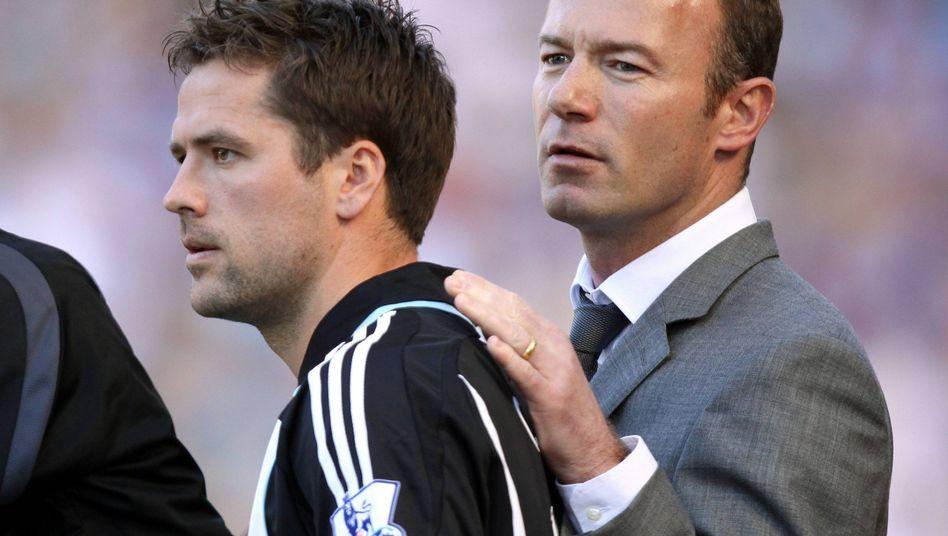 Das Jahr 2009 war das Ende einer Freundschaft: Michael Owen und Ex-Teamkollege Alan Shearer