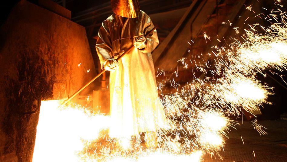 Stahlwerk in Duisburg: Regierung schont die Stromfresser-Industrien