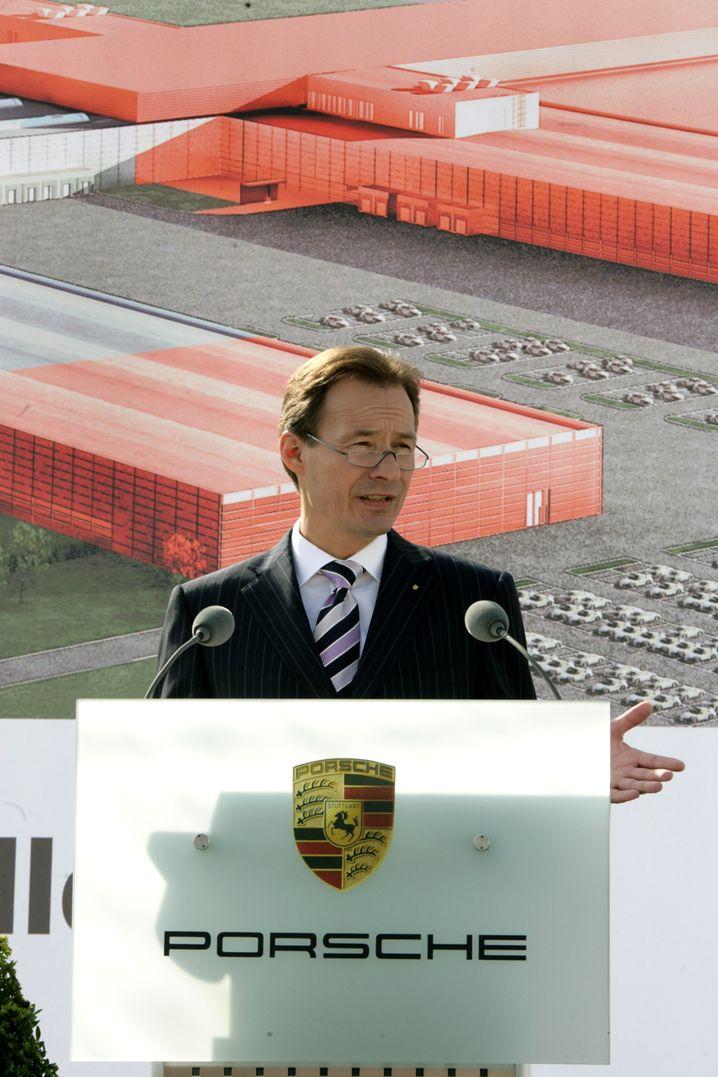 Bald-Porsche-Chef Michael Macht: Hochqualifizierter Fertigungsexperte