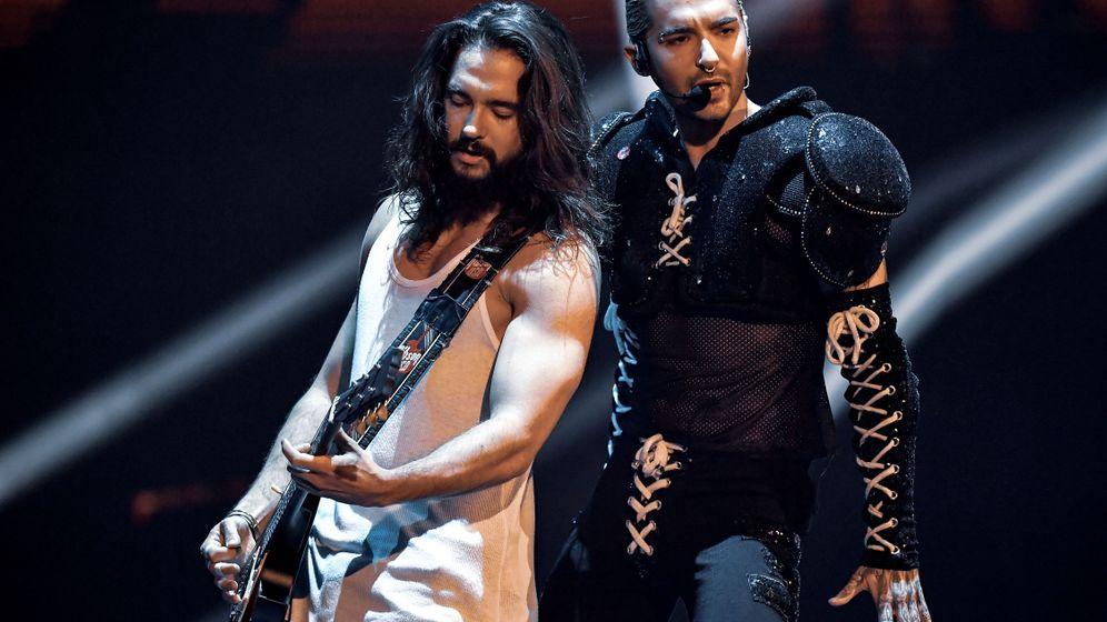 Tokio Hotel in Berlin: Viel Retro, wenig Hochzeit