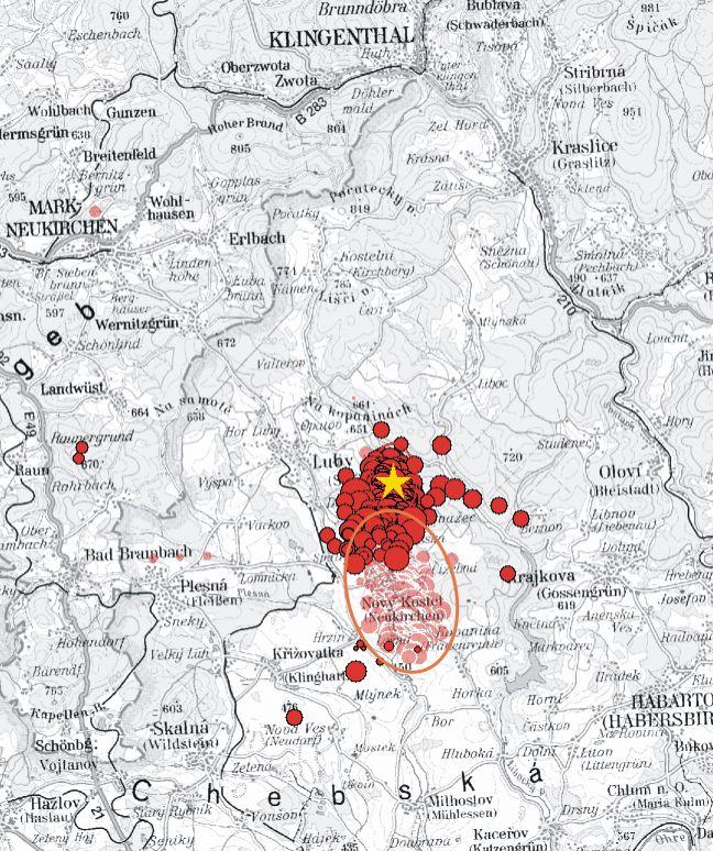 GRAFIK Vogtland / Erdbeben / WISSENSCHAFT