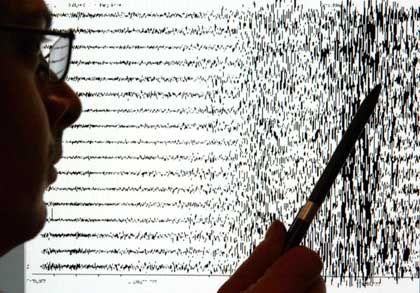 Seismografen-Ausschläge: Folgen des Bebens konnten nicht vorhergesagt werden