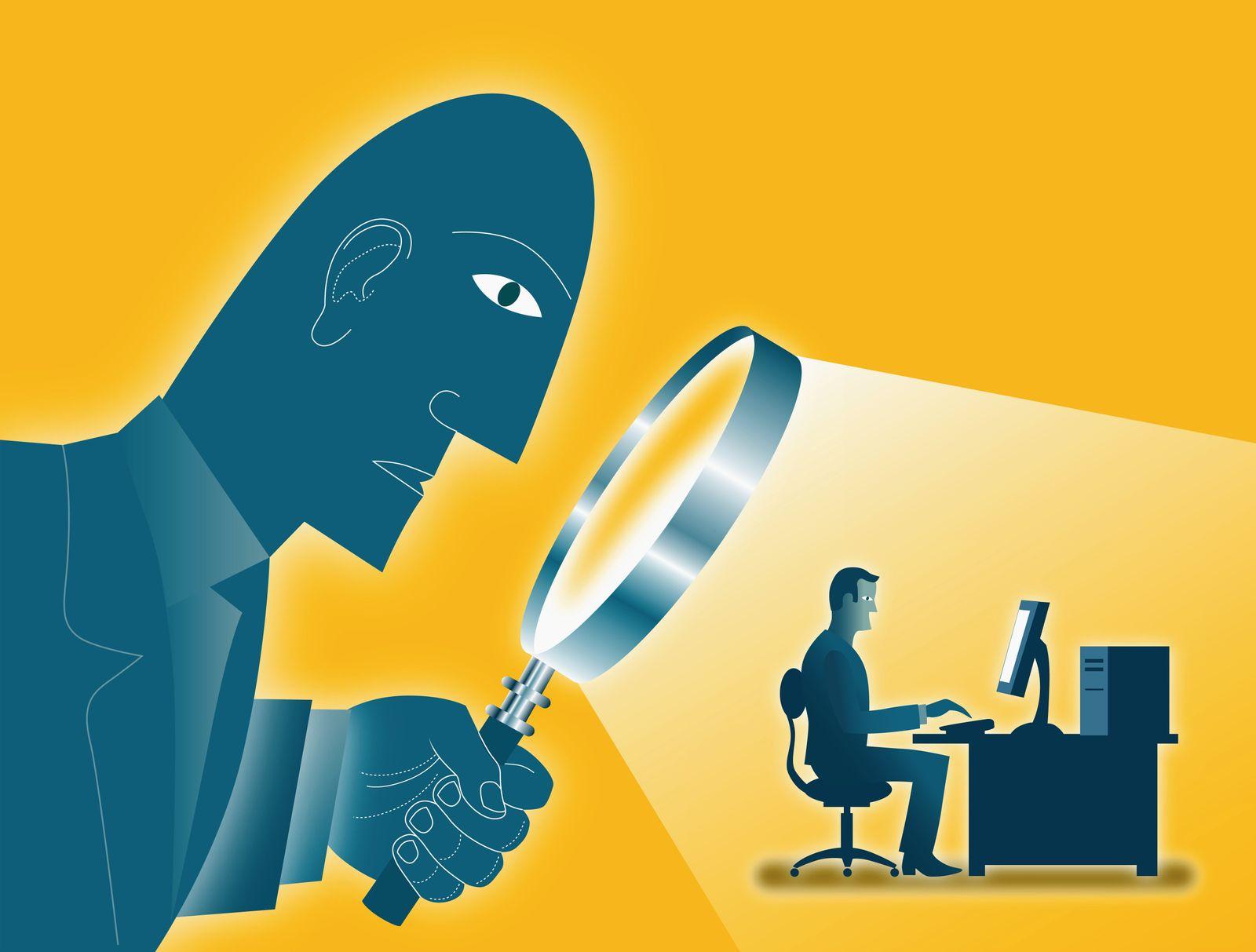 NICHT MEHR VERWENDEN! - Symbolbild Internet / Sicherheit / Überwachung / cleanit