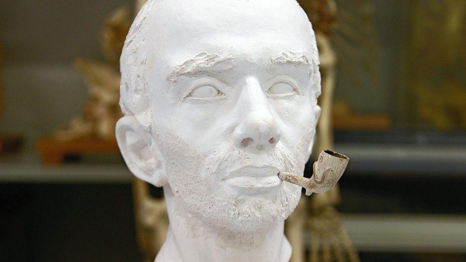 Kopfrekonstruktion des verstorbenen Baslers: Hatte seine Frau ihn getötet?
