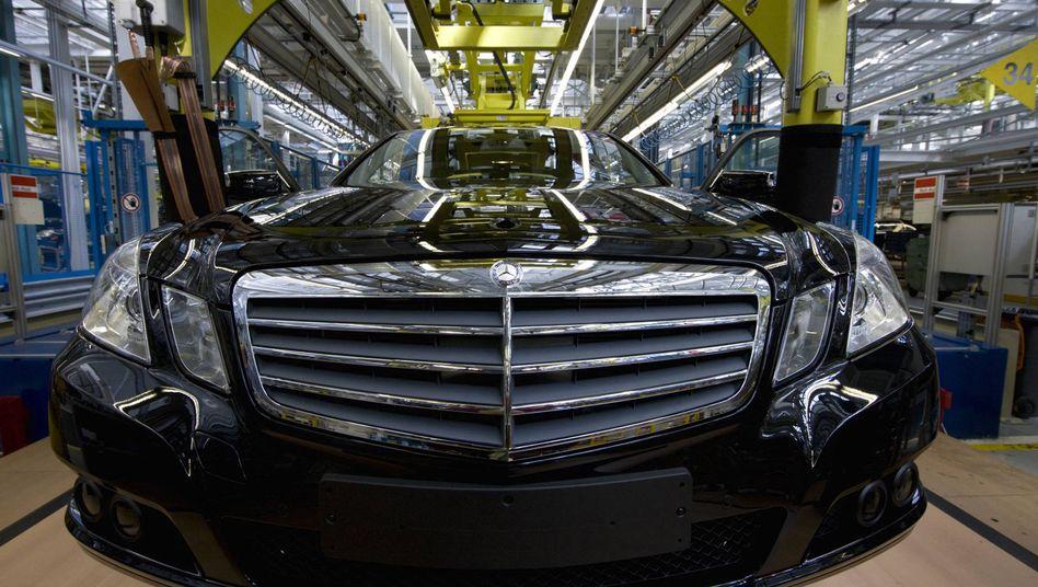 """Daimler-Werk (in Sindelfingen): Der Bluttest soll """"der Gesundheit"""" der Bewerber dienen"""
