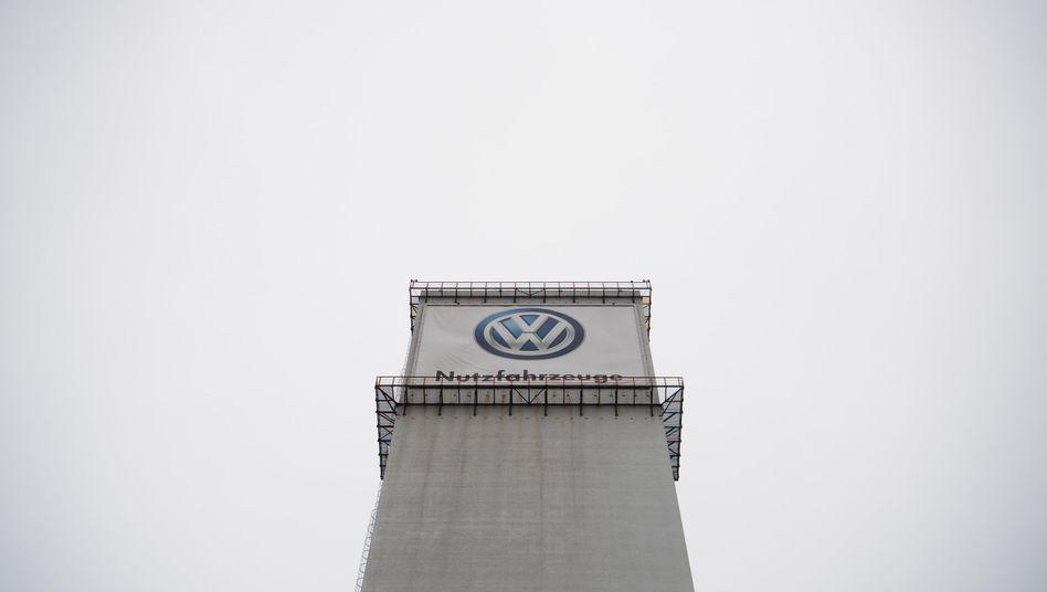 VW-Logo in Hannover