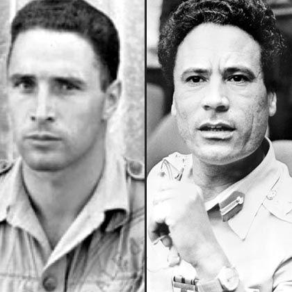 Albert Preziosi und Muammar al-Gaddafi: Vater und Sohn?