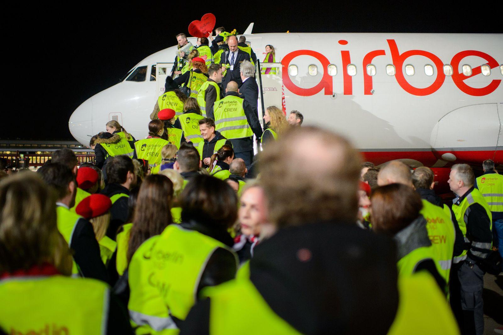 Air Berlin/ Mitarbeiter