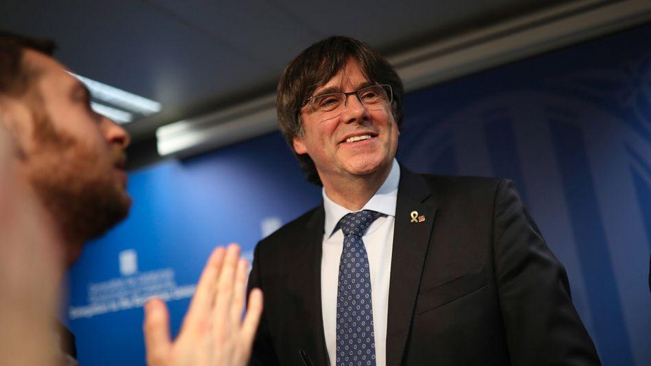 Der ehemalige katalanische Regionalpräsident Carles Puigdemont (2019)