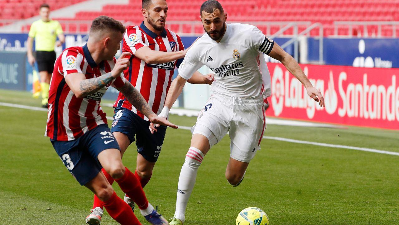 Real Madrid nach Remis gegen Atlético: Die alte Garde tritt Wasser - DER SPIEGEL