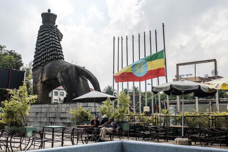 Äthiopien Halbmast Putschversuch