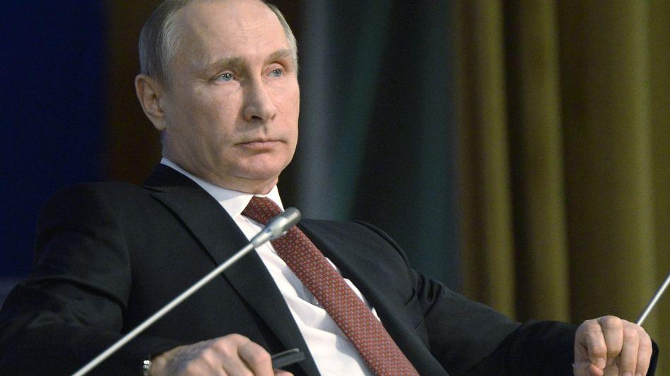 Russlands Präsident Putin: Willkommen im Bundestag?