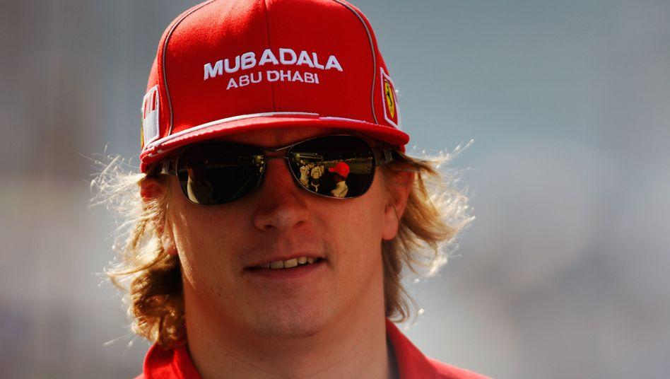 Ferrari-Pilot Räikkönen: 17 Millionen für ein Jahr Pause