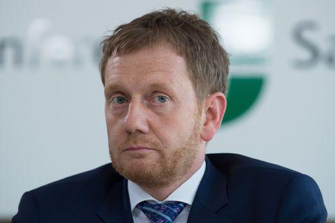 Der sächsische Ministerpräsident Kretschmer (CDU)