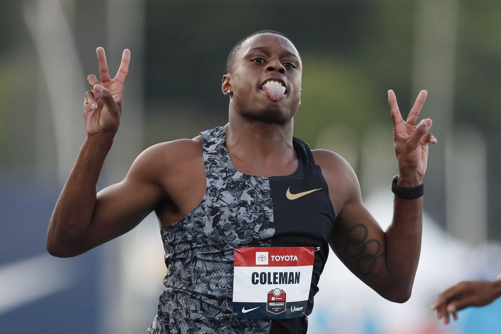 US-Sprinter Coleman darf zur WM