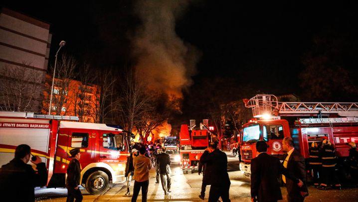 Ankara: Anschlag auf Militärkonvoi