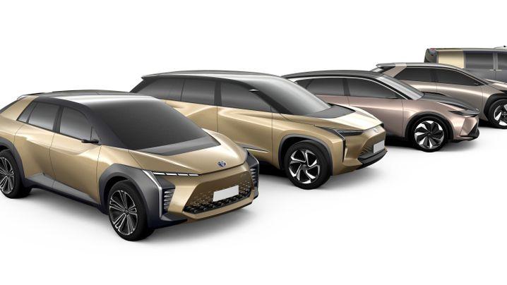 Autos, Roller, Rollstühle: So könnte Toyota den Batterieantrieb einsetzen