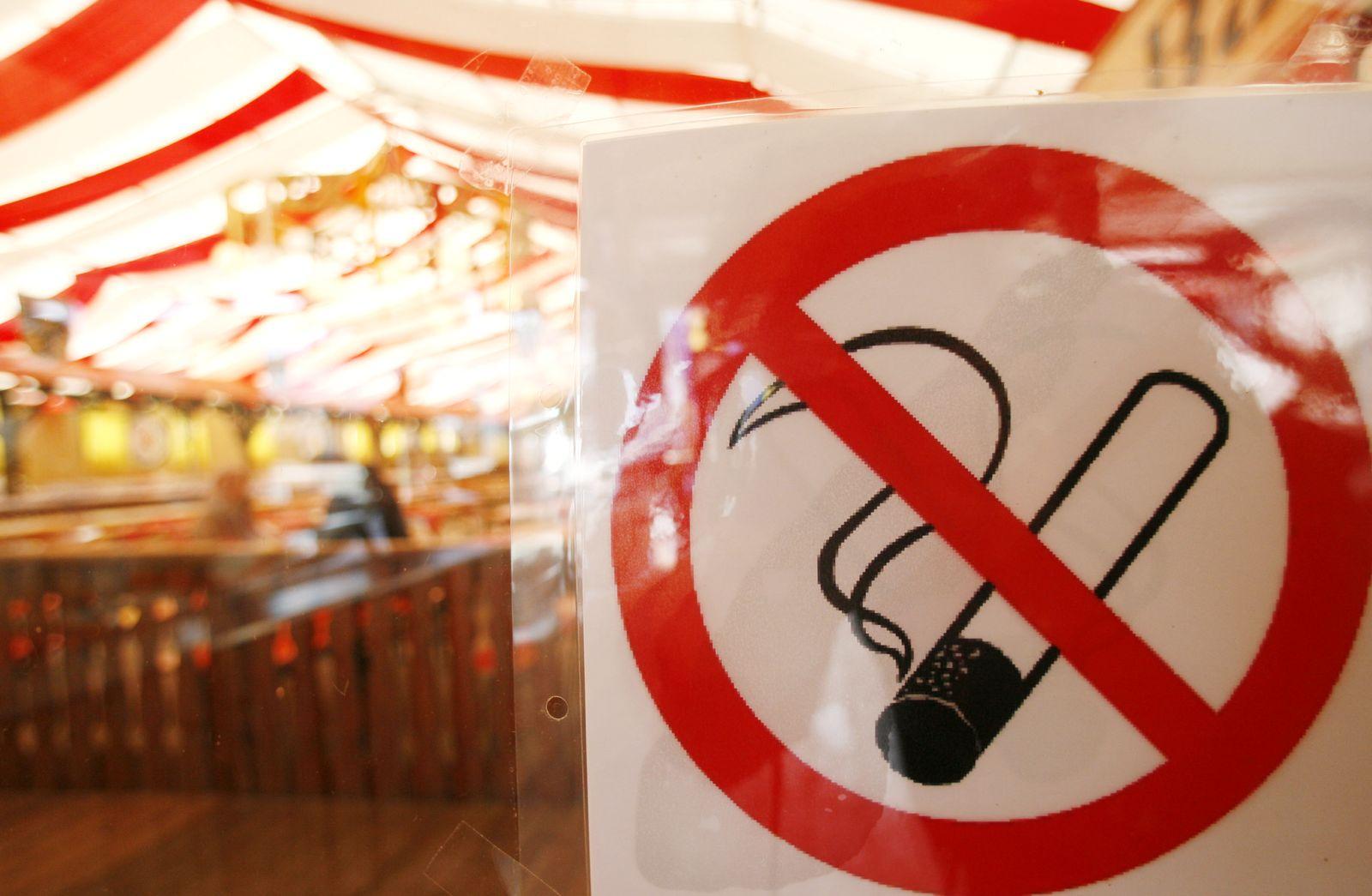 NICHT VERWENDEN Rauchverbot Bayern